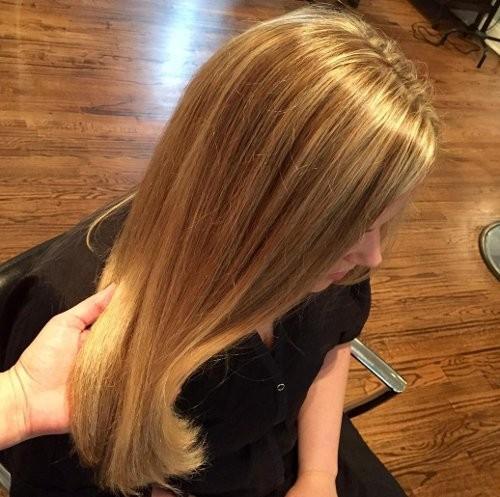 Honig-Schaum Haarfarbe