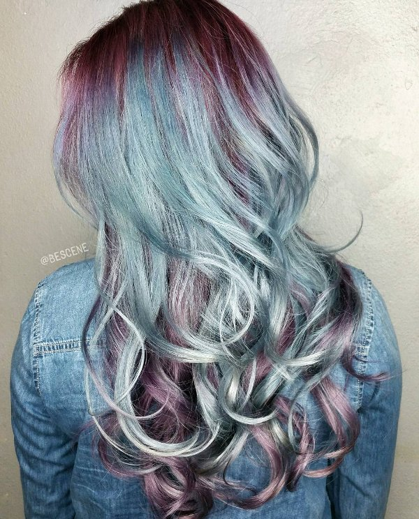 Metallic Haarfarben