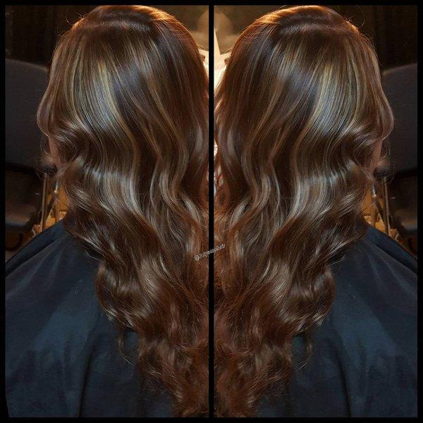 Braun Farbe: Warme Braune Haarfarben