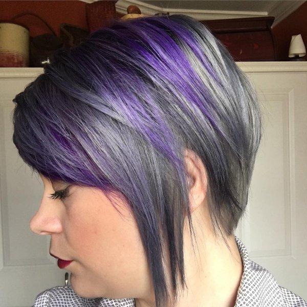 Grautöne für Haare