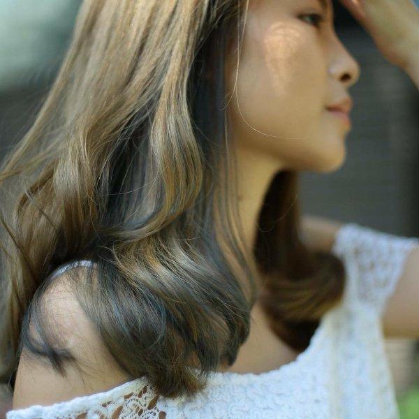 Karamell Braun Haarfarbe