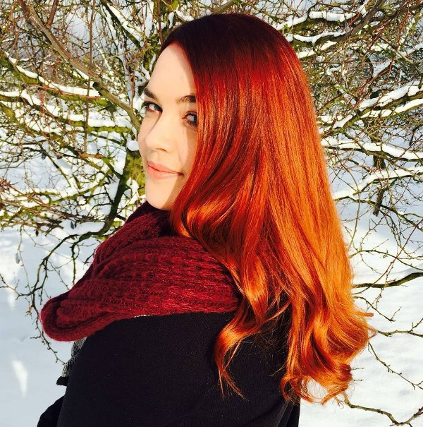 3 Aufmerksamkeit erregende Rote Haar Nuancen