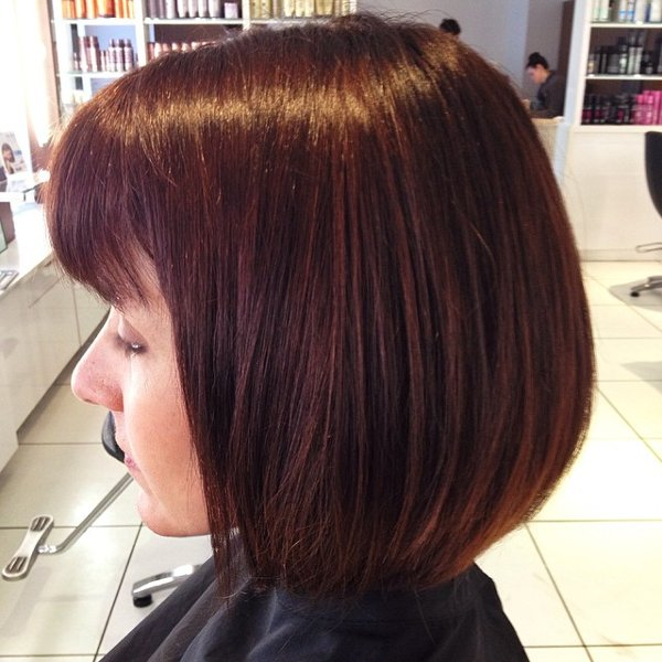 Kupfer Braune Haarfarbe 3