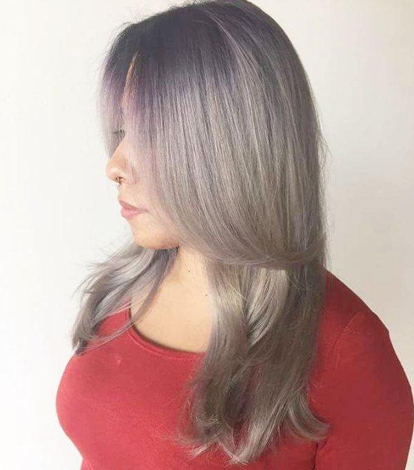 Haarkreide Grau