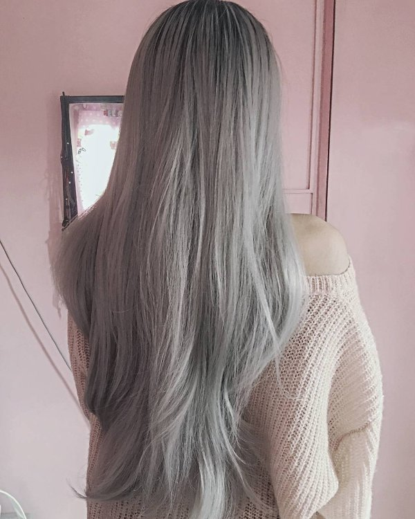 Der neue Trend der grauen Haare