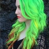 Neonfarben für Haare 6