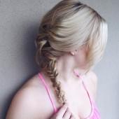 Wunderschöne Flechtfrisuren für mittellanges Haar 9