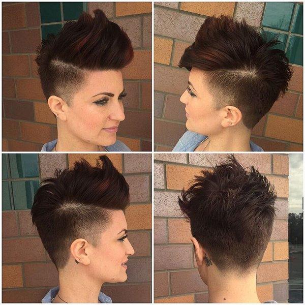 Pixie Mohawk Frisur