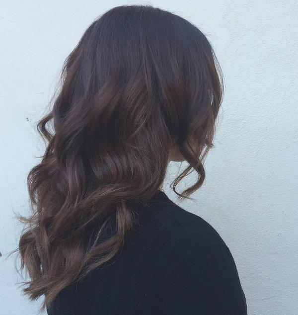 Schokobraun Haarfarbe 3