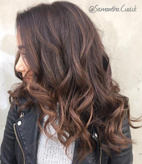 Schokobraun Haarfarbe 5