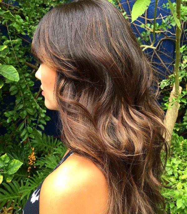 Warme braune Haarfarben 11