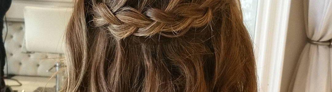 Alltagsfrisuren für mittellanges Haar - 15 Ideen