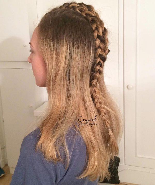 Französischer Zopf Für Mittellanges Haar Allefrisurende
