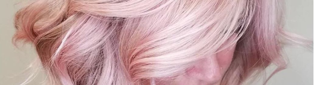 Diesen Sommer Ist Die Trend Haarfarbe Rose Gold Haarfarbe