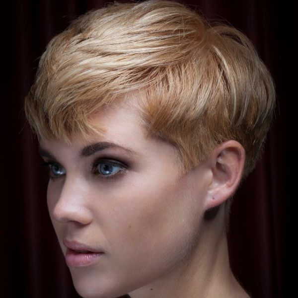 Sehr kurzhaarschnitt für dickes haar