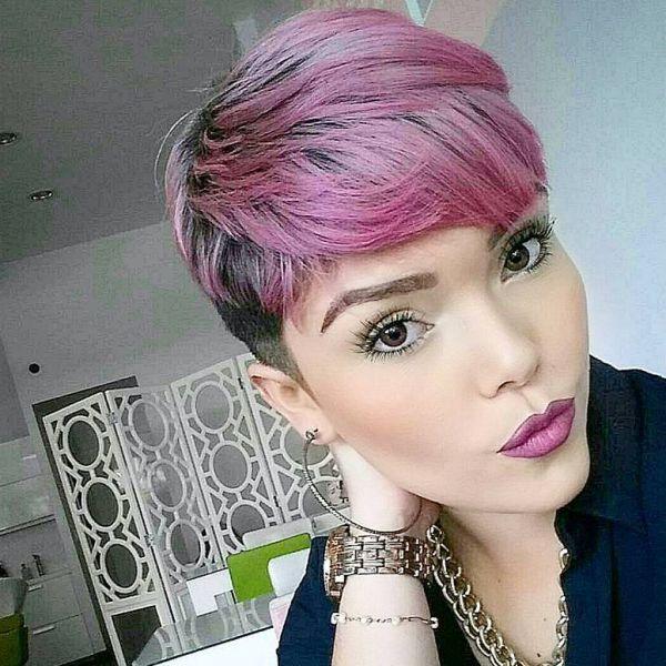 Lila Pixie Cut