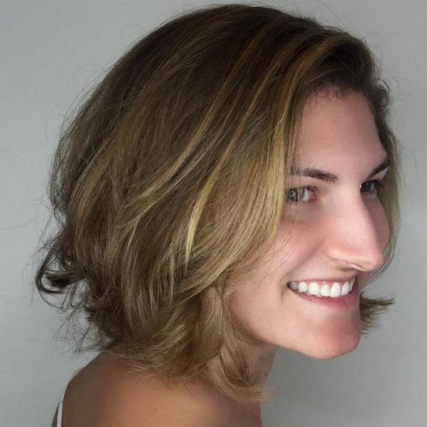Strahnchen Ideen Fur Kurze Haare