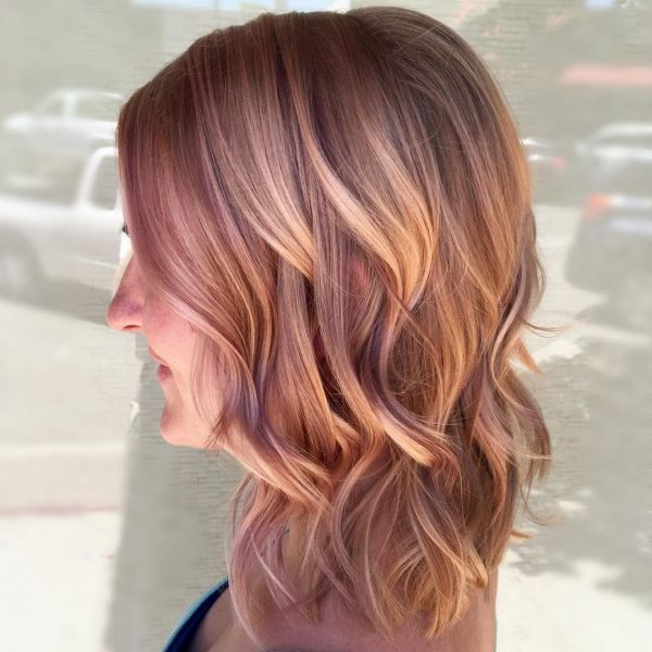 Trendige mittellange Haar Frisuren - 20 Inspirationen
