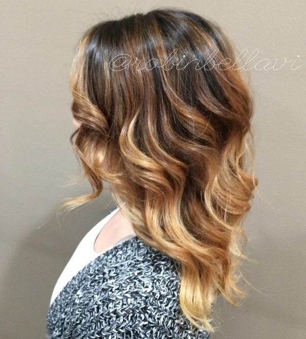 Blonde Ombré-Look