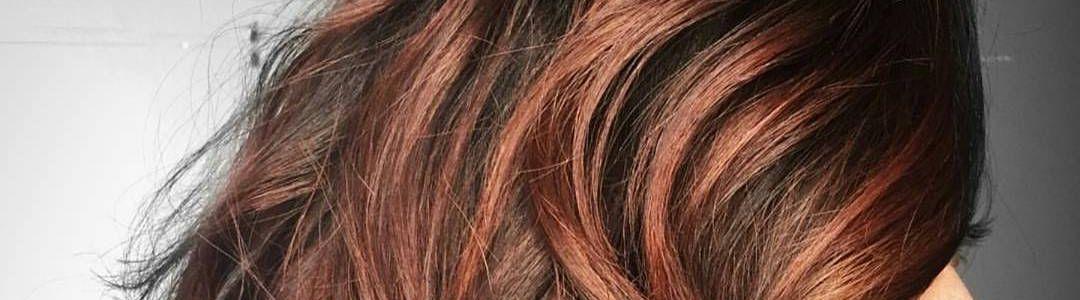 Haarfarben mit strahnchen
